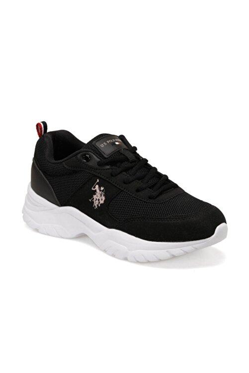 U.S. Polo Assn. TONY Siyah Kadın Sneaker Ayakkabı 100489863 1