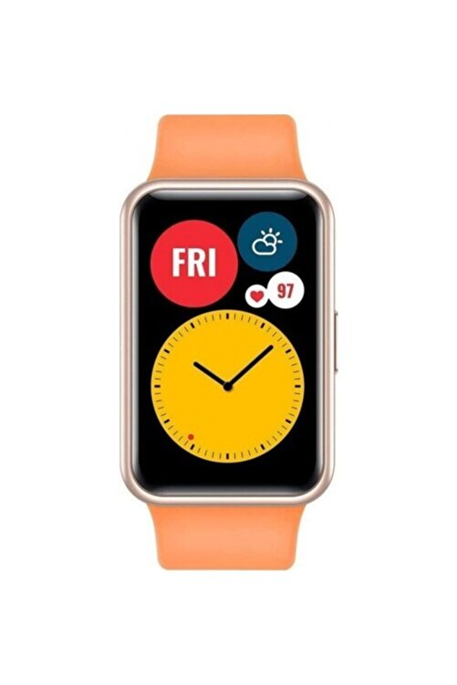 Huawei Watch Fit Akıllı Saat – Turuncu 1