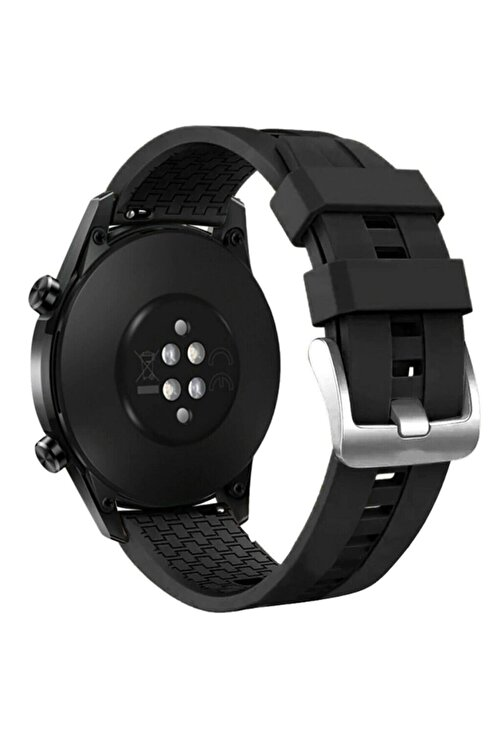 MORTY Huawei Gt - Gt 2 - Honor Magic Watch 2 46mm Akıllı Saat Silikon Kordon 1