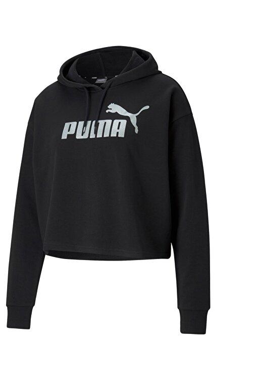 Puma Kadın Siyah Uzun Kollu  Sweatshirt 1