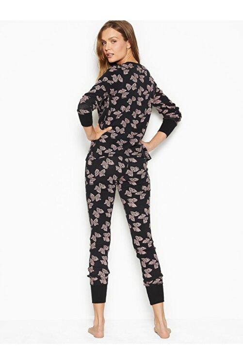 Victoria's Secret Termal Uzun Pijama Takımı 2