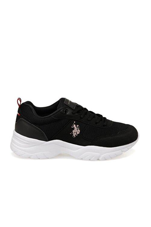 U.S. Polo Assn. TONY Siyah Kadın Sneaker Ayakkabı 100489863 2