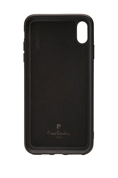 Pierre Cardin Iphone Xsmax Kahve Stand, Kart, Yan Silikon Koruma Deri Kılıf 2