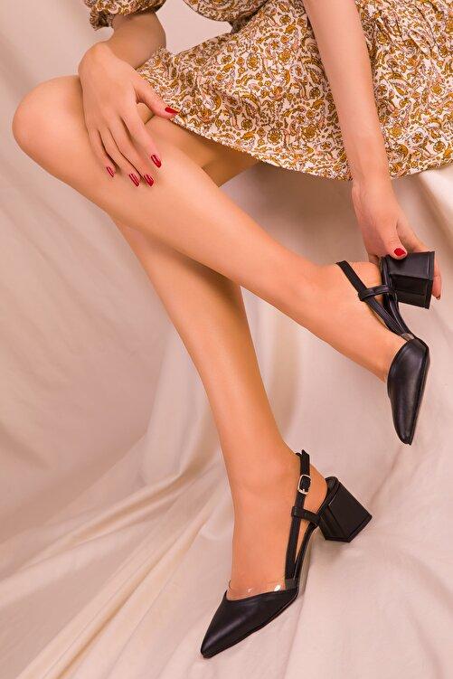SOHO Siyah Kadın Klasik Topuklu Ayakkabı 14656 2