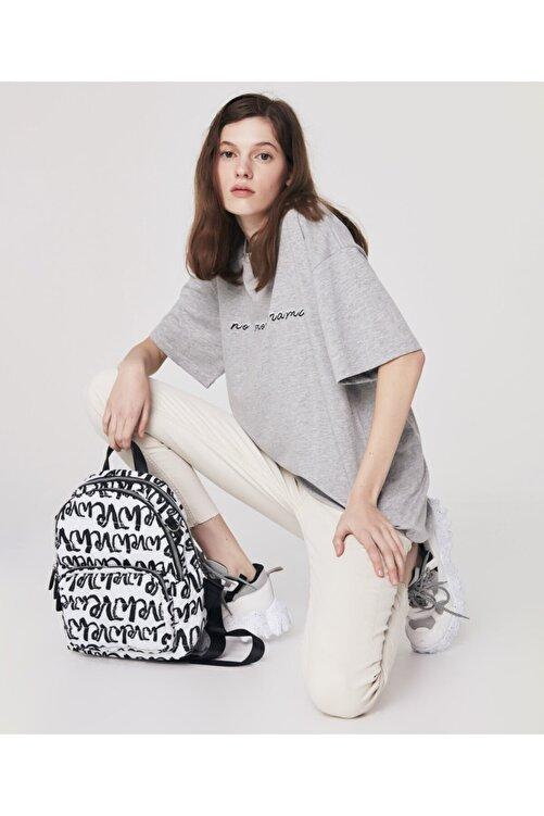 Twist Slogan Baskılı T-shirt 1