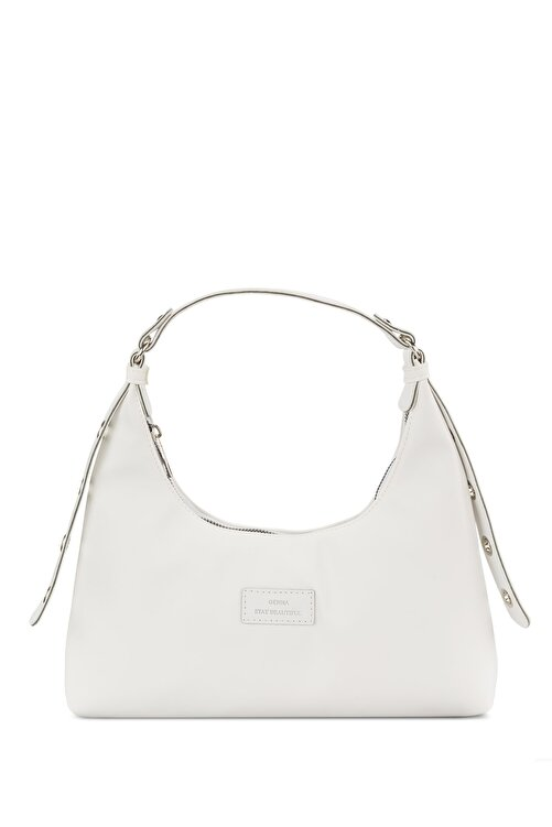 Housebags Kadın Beyaz Baguette Çanta 205 1
