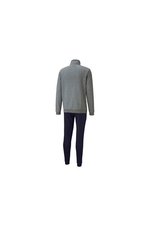 Puma Erkek Gri Clean Sweat Suit Eşofman Takım 583598-03 2