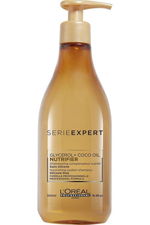 L'oreal Professionnel Serie Expert Nutrifier Kuru Saçlar için Nem Yükleyici Şampuan 500 ml 1