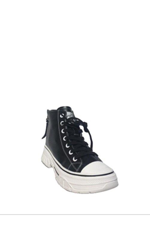 Guja Siyah Sneakers Ayakkabı 20k322-5 1