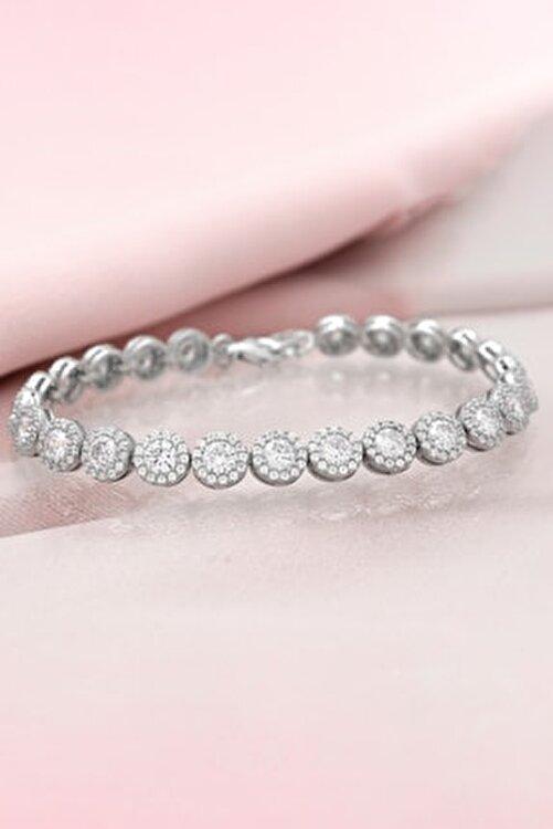 Else Silver Pırlanta Tasarımı Su Yolu Aşk Tohumları Gümüş Bileklik 1