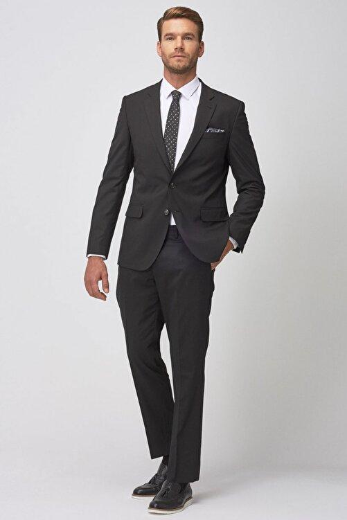 ALTINYILDIZ CLASSICS Erkek Siyah Regular Fit Siyah Takım Elbise 2