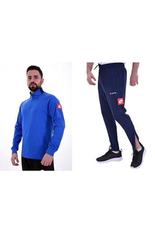 Lotto R8919 Horz Antrenman Eşofman Takımı Mavi 1