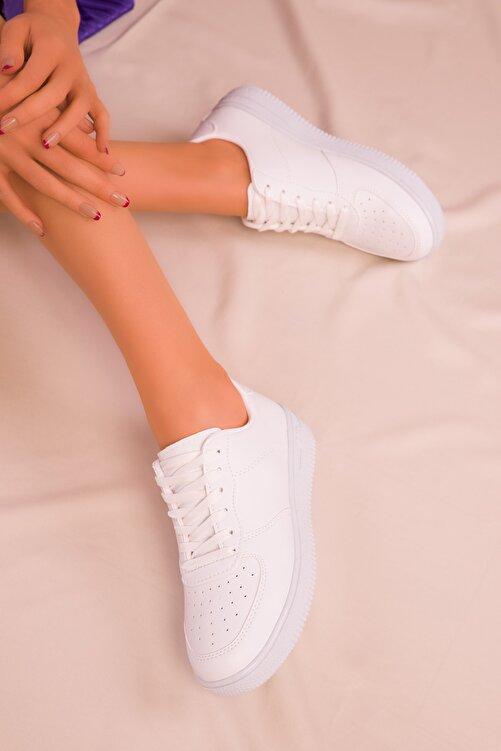 SOHO Beyaz Kadın Sneaker 14361 1