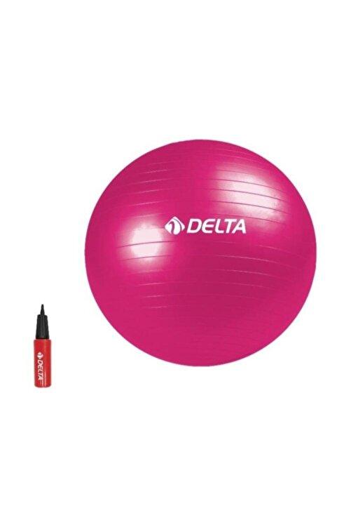Delta Fuşya Deluxe Pilates Topu 75 cm 1
