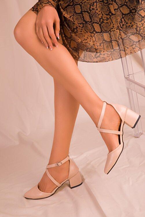SOHO Ten Mat Kadın Klasik Topuklu Ayakkabı 14392 2