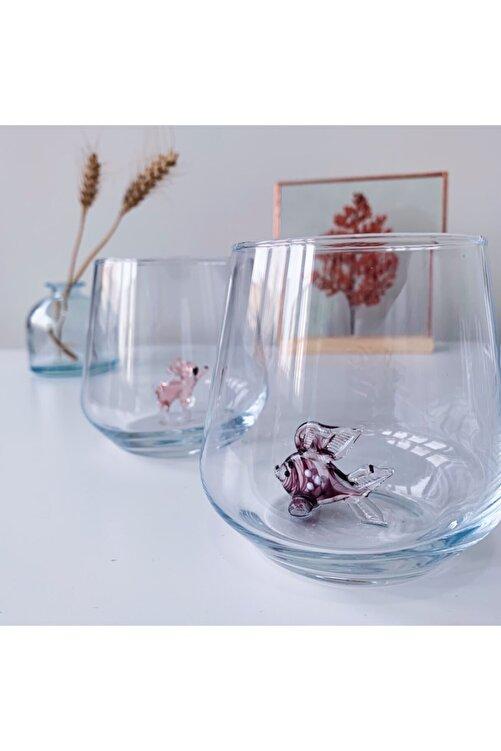 Minizooistanbul Hayvan Figürlü 6'lı Su Bardağı Seti 1