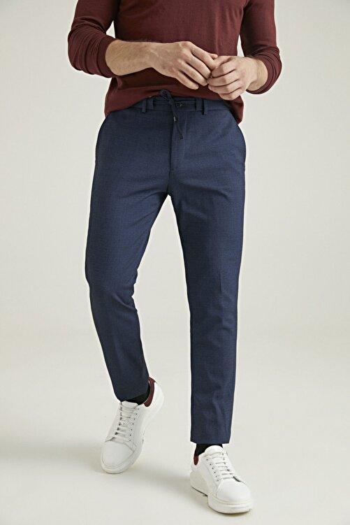 D'S Damat Slim Fit Lacivert Sihirli Kumaş Pantolon 1