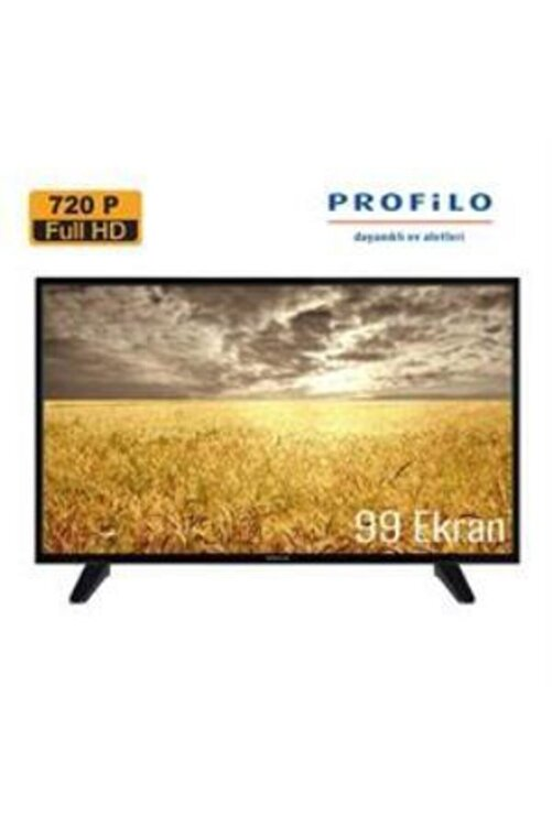 "Profilo 39PA210E 39"" 99 Ekran Uydu Alıcılı HD Ready LED TV 2"
