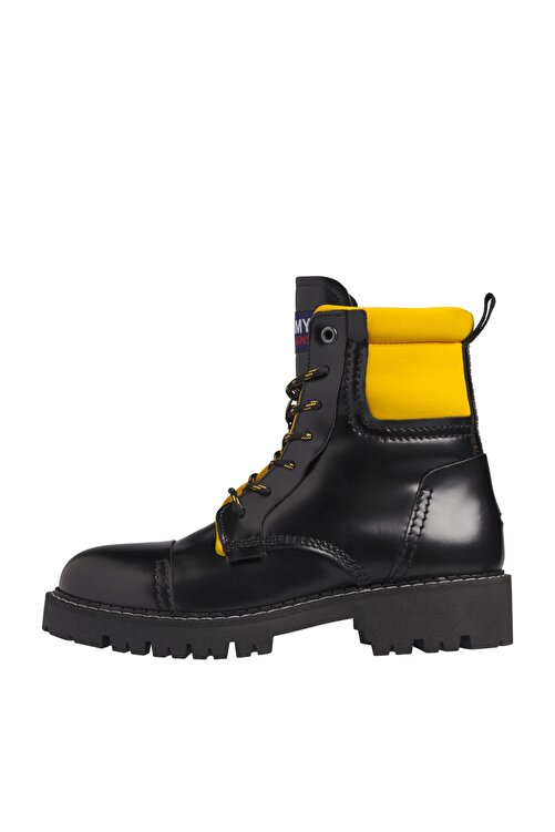 Tommy Hilfiger Kadın Siyah Bot & Bootie Fashıon Pop Color Boot EN0EN01144 1