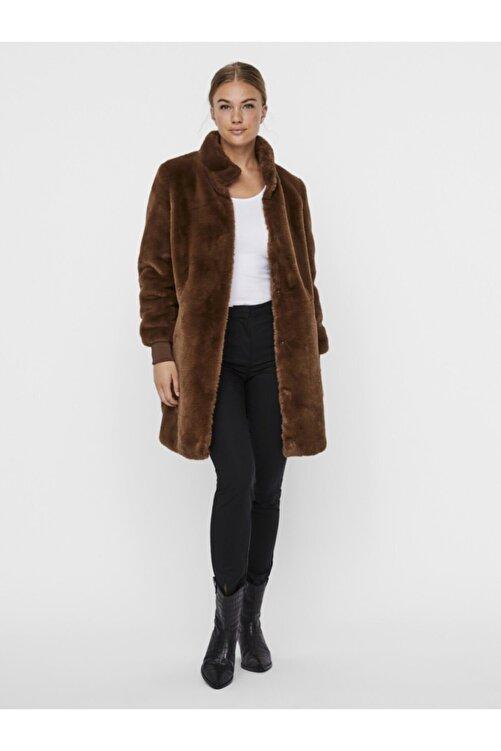 Vero Moda Kadın Kahverengi Kaban 1