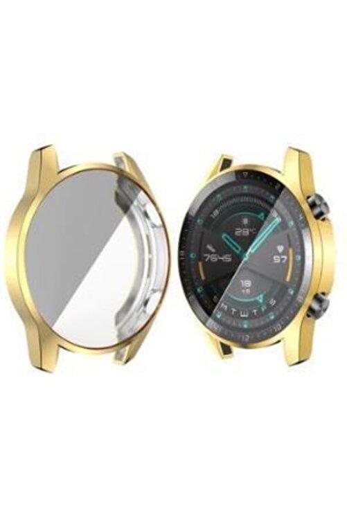 yakuppolt Huawei Watch Gt2 46mm Ekran Koruma Ultra İnce Silikon Kılıf 2