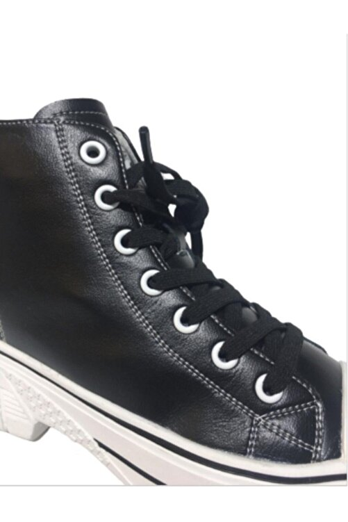 Guja Siyah Sneakers Ayakkabı 20k322-5 2