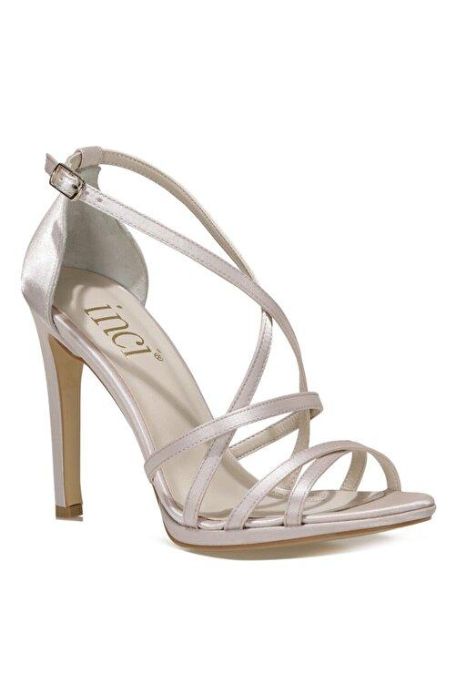 İnci SATIN.Z 1FX Bej Kadın Topuklu Sandalet 101038375 2