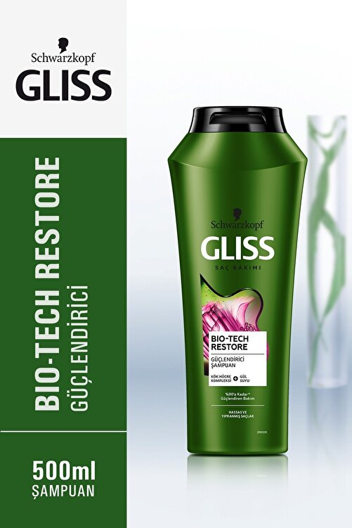 Gliss Bio-tech Güçlendirici Şampuan 500 ml 4'lü 2