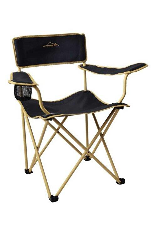 NURGAZ Campout Katlanır Kamp Sandalyesi Mogan 1