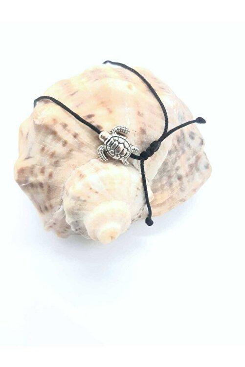 Accessories Kaplumbağa Figürlü Siyah Ipli Bileklik 2