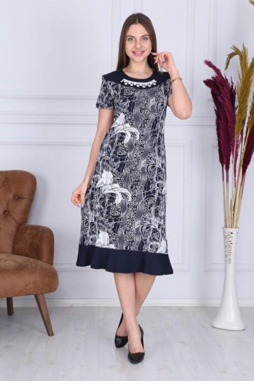 Wild Love Kadın Modal Baskılı Elbise 1