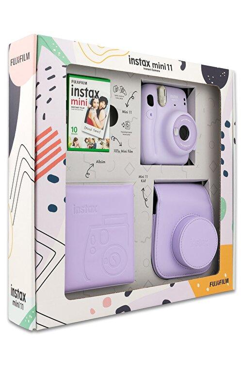 Fujifilm Instax Mini 11 Lila Kit 2