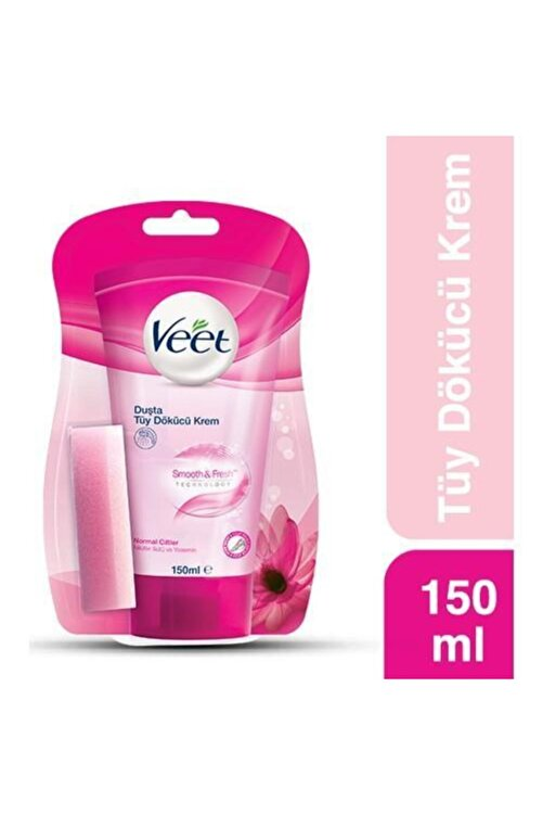Veet Duşta Tüy Dökücü Krem Normal 150 ml 1