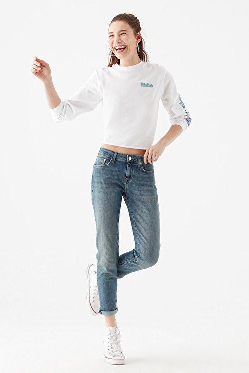 Mavi Kadın Ada Gölgeli  Vintage Jean Pantolon 1020533423 1