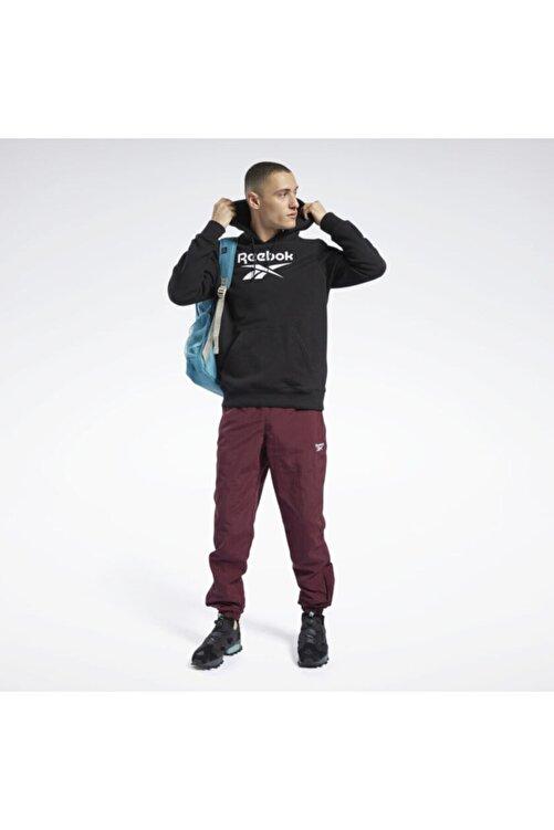 Reebok Siyah Sweatshirt Cl F Vector Hoodie 1