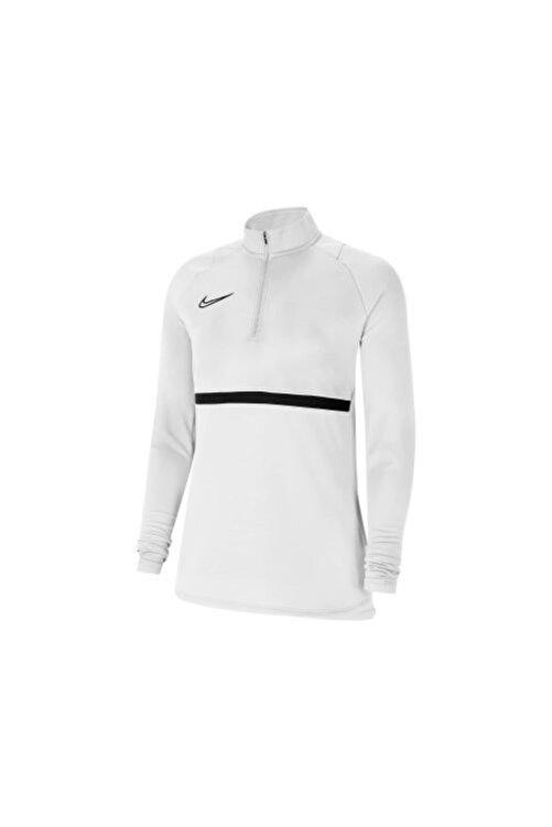 Nike Kadın   Beyaz W Df Acd21 Drıl  Antrenman Eşofman Üstü 1