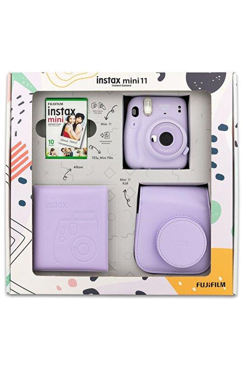 Fujifilm Instax Mini 11 Lila Kit 1