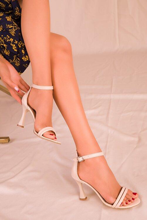 SOHO Bej Kadın Klasik Topuklu Ayakkabı 15839 1