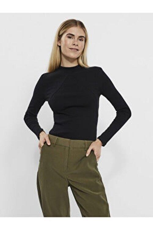 Vero Moda Dik Yaka Dikiş Detaylı Bluz 10250128 Vmharrıet 2