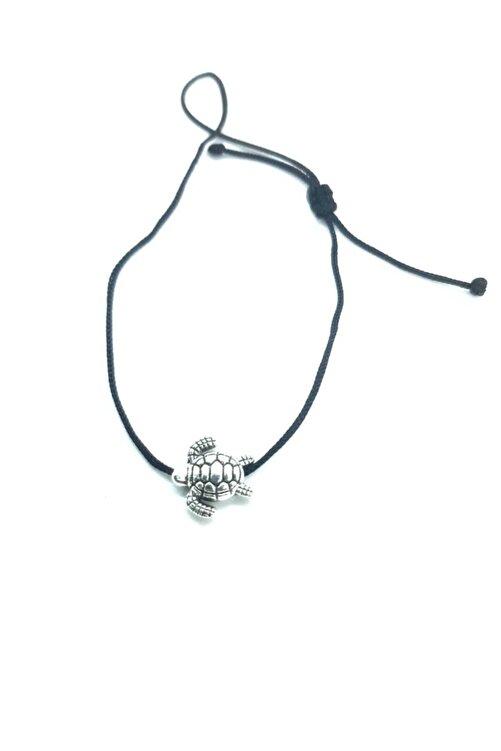 Accessories Kaplumbağa Figürlü Siyah Ipli Bileklik 1