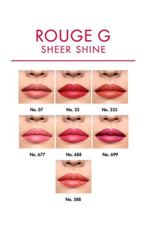 Guerlain Rouge G Lips Refill Sheer Shine N°007 Ruj 3346470431928 2