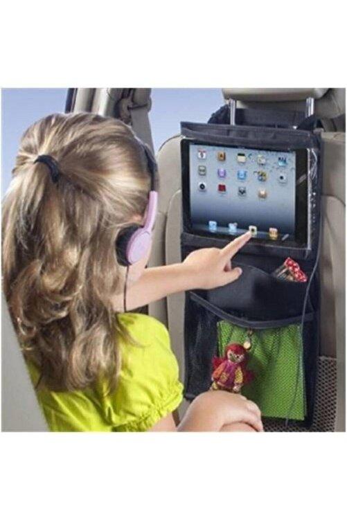 AnkaWood Araba Koltuk Arkası Şeffaf Kılıf Tablet Tutucu Araç Içi Düzenleyici Organizer 2