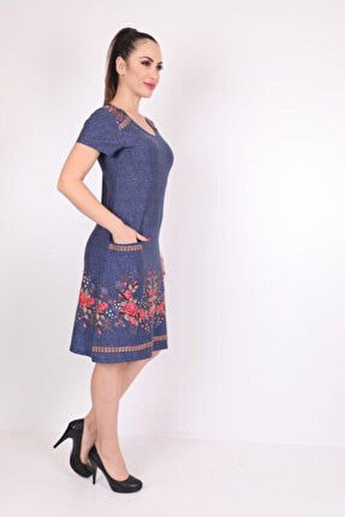 Wild Love Kadın Modal Baskılı Elbise 2