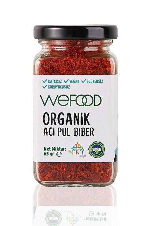 Wefood Organik Acı Pul Biber 65 gr 1