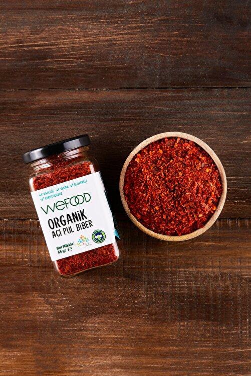 Wefood Organik Acı Pul Biber 65 gr 2