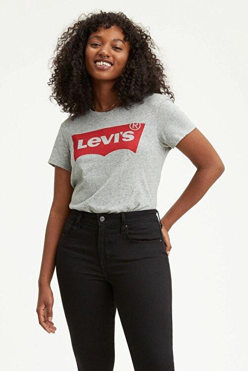 Levi's The Perfect Tee Tr Better Gri Kadın Tişört 1