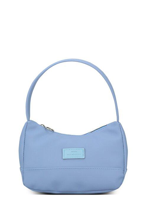 Housebags Kadın Mavi Baguette Çanta 197 1