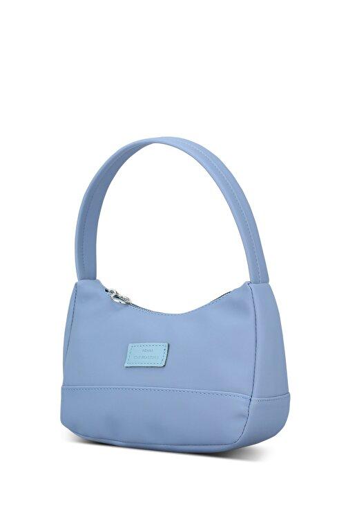 Housebags Kadın Mavi Baguette Çanta 197 2