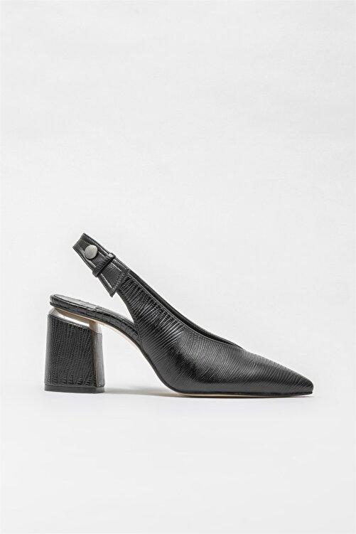 Elle Shoes Kadın Siyah Topuklu Ayakkabı 1