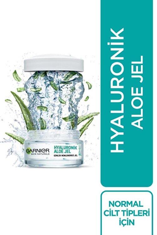 Garnier Hyaluronik Aloe Jel + Aloe Temizleme Jeli + Aloe Tonik 2
